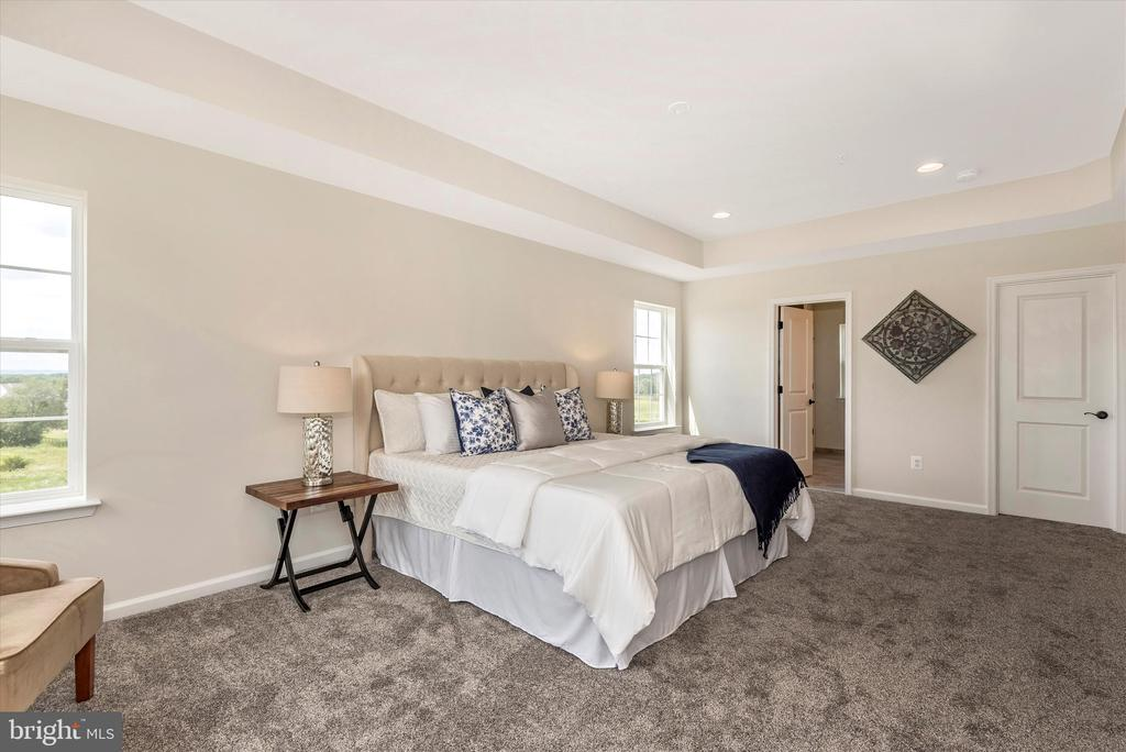 Master Bedroom w/ optional Windows - 527 ISAAC RUSSELL, NEW MARKET