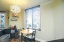 Dining Area - 1205 N GARFIELD ST #707, ARLINGTON