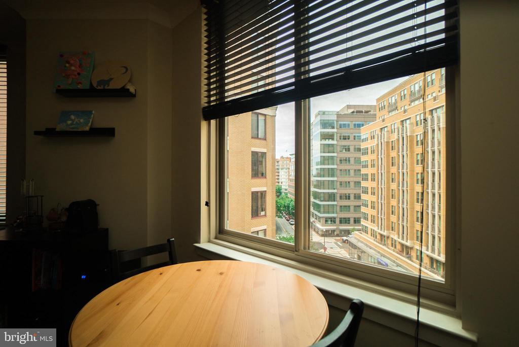 View from the Dining Area - 1205 N GARFIELD ST #707, ARLINGTON