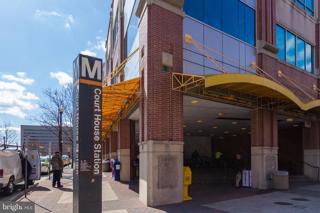 2 metro stops ...Courthouse Metro - 1741 N TROY ST #8-430, ARLINGTON