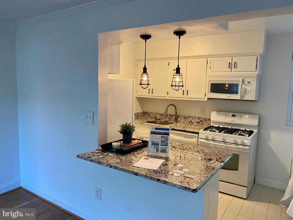 Updated Kitchen  with breakfast bar - 2053 N WOODSTOCK ST #301, ARLINGTON