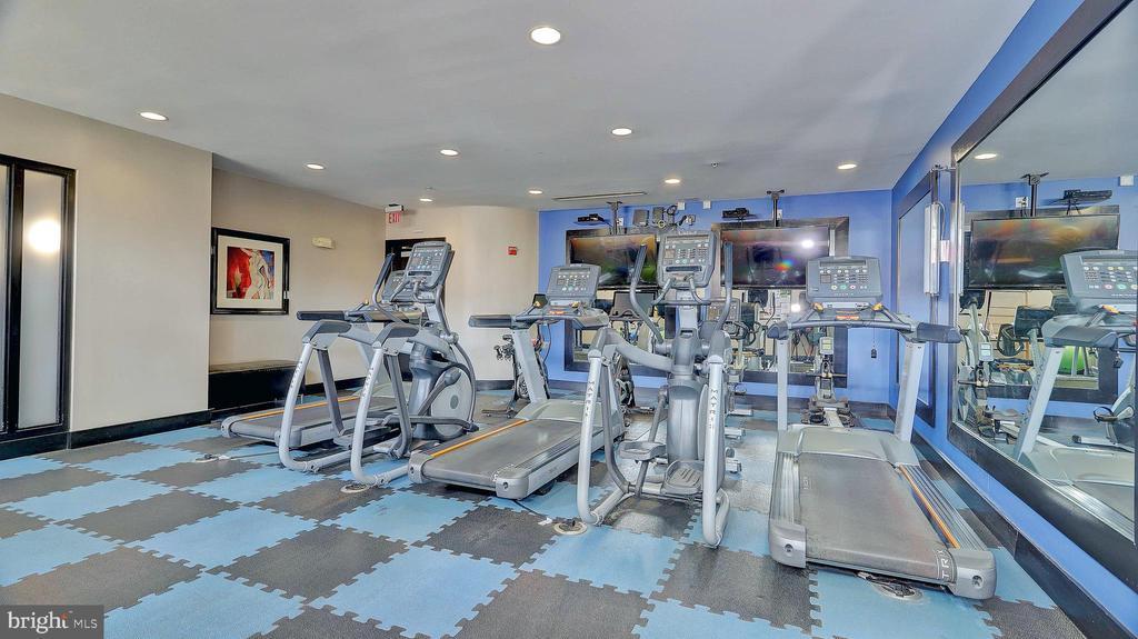 Fitness room - 1800 WILSON BLVD #235, ARLINGTON