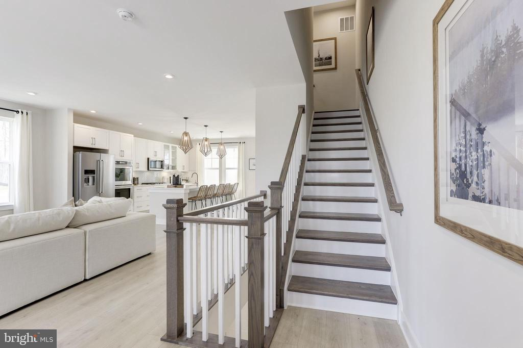 Stairs - First Floor - 17660 FALCON HEIGHTS ST, DUMFRIES