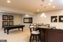 Lower level is perfect for entertaining. - 25748 RACING SUN DR, ALDIE