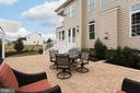 ...walks out to the beautiful patio! - 25748 RACING SUN DR, ALDIE