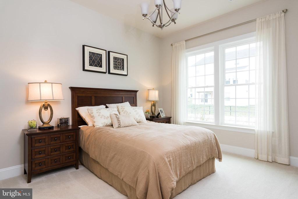 The main level bedroom suite... - 25748 RACING SUN DR, ALDIE
