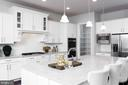 Custom cabinetry,  stainless steel appliances - 25748 RACING SUN DR, ALDIE