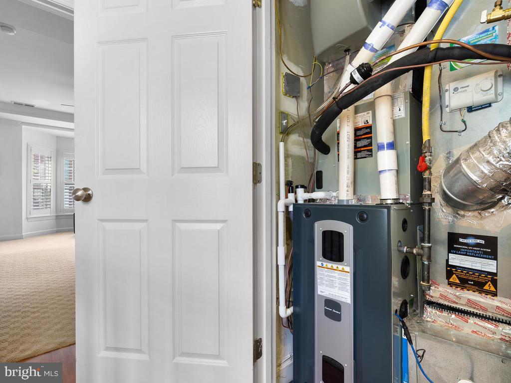 new HVAC with UV filter - 2364 MERSEYSIDE DR #137, WOODBRIDGE