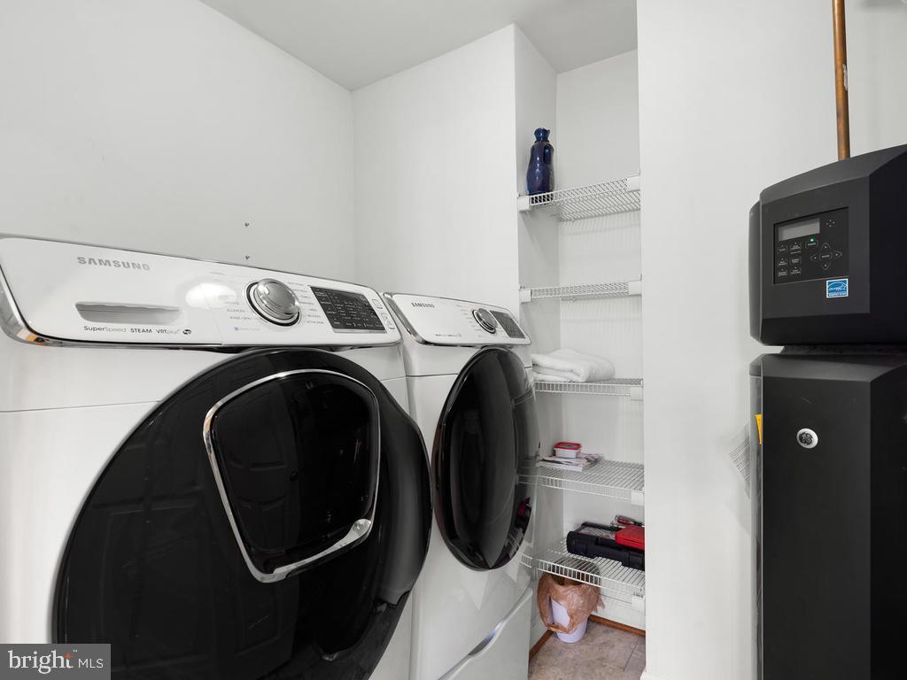 new washer and dryer - 2364 MERSEYSIDE DR #137, WOODBRIDGE