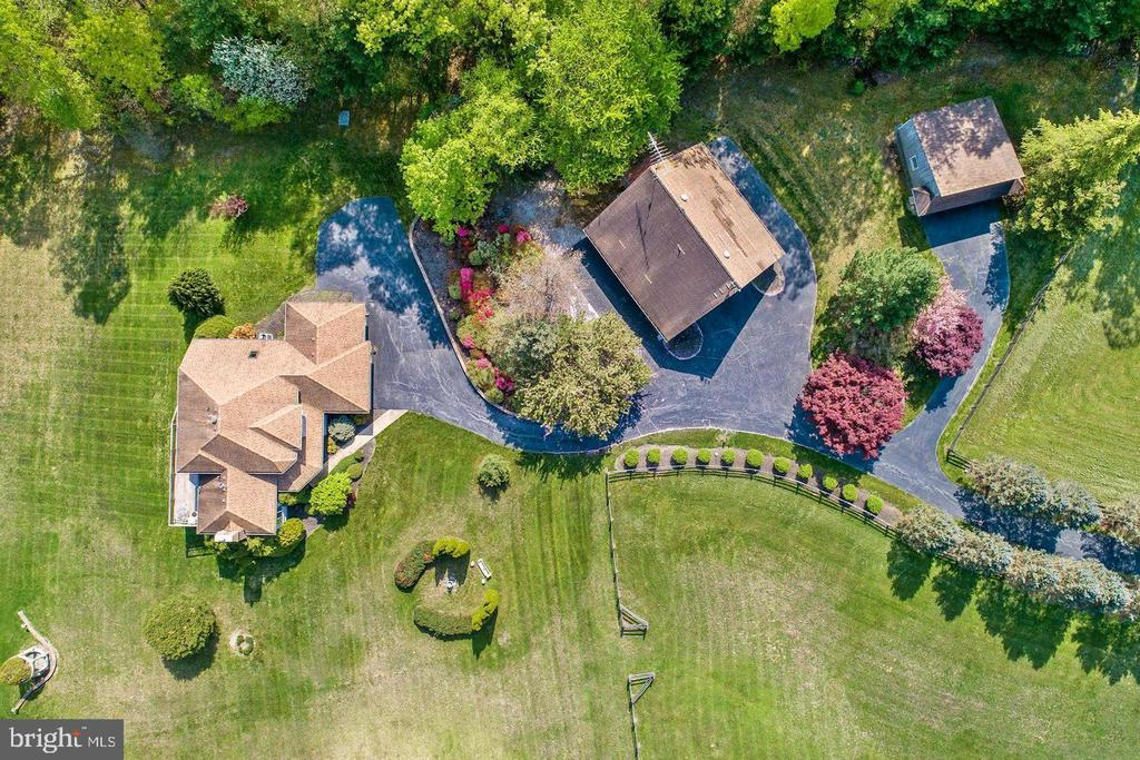 Bird's eye view of Estate compex - 14016 HARRISVILLE RD, MOUNT AIRY