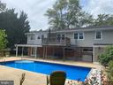 Deck and patio section for entertaining - 8333 BLOWING ROCK RD, ALEXANDRIA