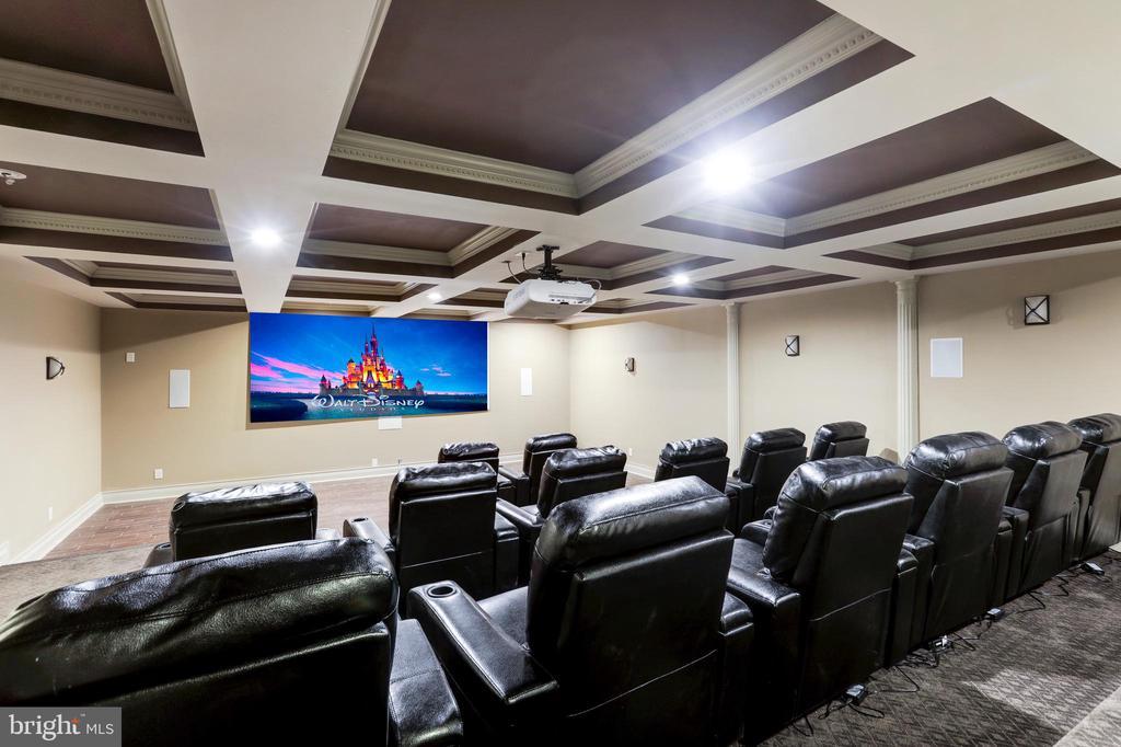 Largest Home Cinema Around! - 11400 ALESSI DR, MANASSAS