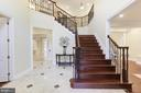 Front Marble Foyer/Reception! - 11400 ALESSI DR, MANASSAS