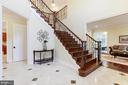 Beautiful Stairway! - 11400 ALESSI DR, MANASSAS