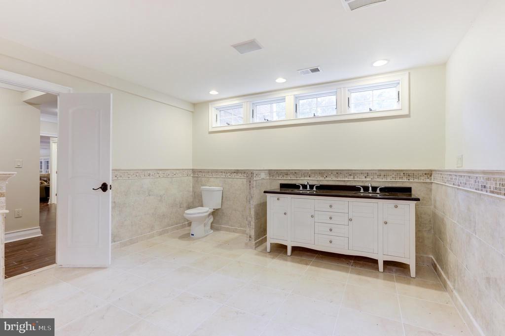 Another Basement Bathroom! - 11400 ALESSI DR, MANASSAS