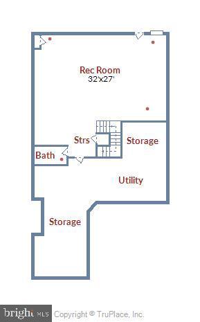 Lower Level Floor Plan - 19433 SASSAFRAS RIDGE TER, LEESBURG