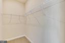 Large walk-in closet. - 19433 SASSAFRAS RIDGE TER, LEESBURG