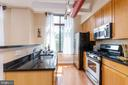 Stainless appliances with gas range - 1201 N GARFIELD ST #316, ARLINGTON