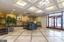 Welcoming lobby with manager's office and mailroom - 1201 N GARFIELD ST #316, ARLINGTON