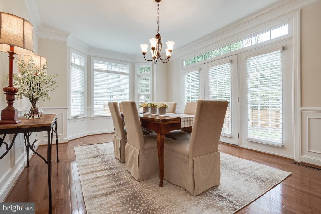 Dining Room w/ Bay window - 18857 ACCOKEEK TER, LEESBURG
