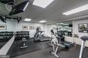Well organized exercise room - 3900 WATSON PL NW #A-2FG, WASHINGTON