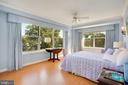 Bedroom #3 with Leafy views - 3900 WATSON PL NW #A-2FG, WASHINGTON