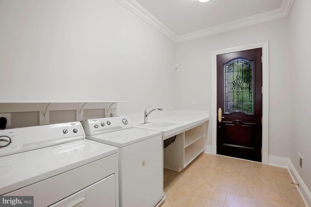 Main Level Laundry Room - 8913 GALLANT GREEN DR, MCLEAN