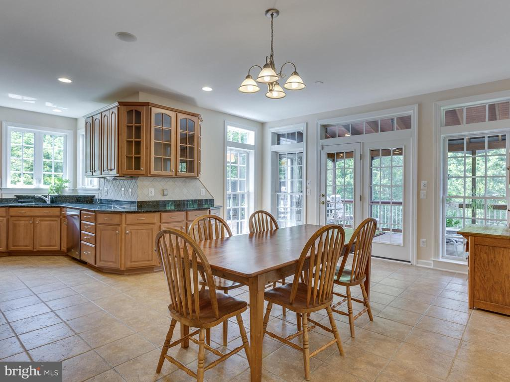 A lot of natural light in the Morning Room - 42294 IRON BIT PL, CHANTILLY