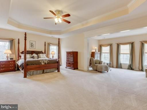 Master bedroom with additional sitting room - 42294 IRON BIT PL, CHANTILLY