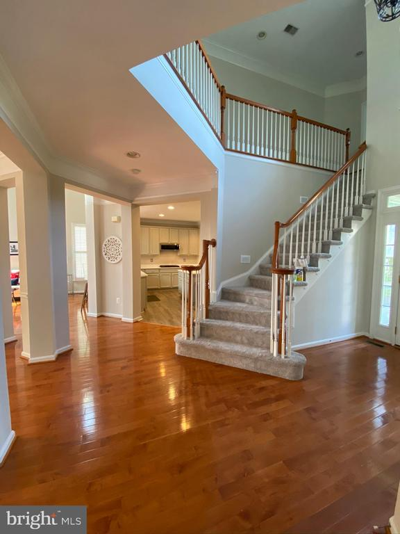 Stairs to upper level - 42939 PARK BROOKE CT, BROADLANDS