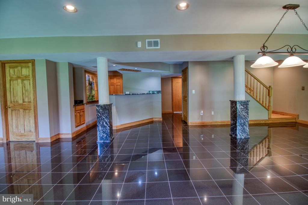 Finished basement - 14016 HARRISVILLE RD, MOUNT AIRY