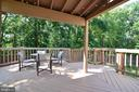 Deck - 111 S DICKENSON AVE, STERLING