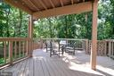 Covered Deck - 111 S DICKENSON AVE, STERLING