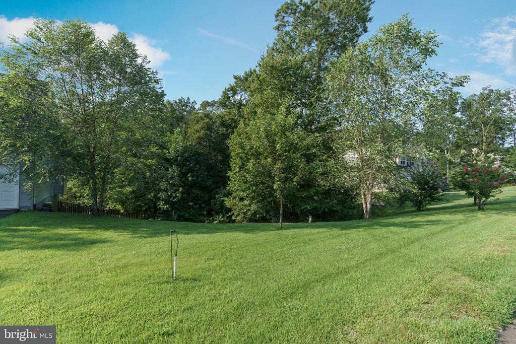 Privacy afforded w/ plenty of trees on  1.89 acres - 12 BLOSSOM TREE CT, STAFFORD