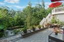 Perfect, private relaxation area - 12 BLOSSOM TREE CT, STAFFORD
