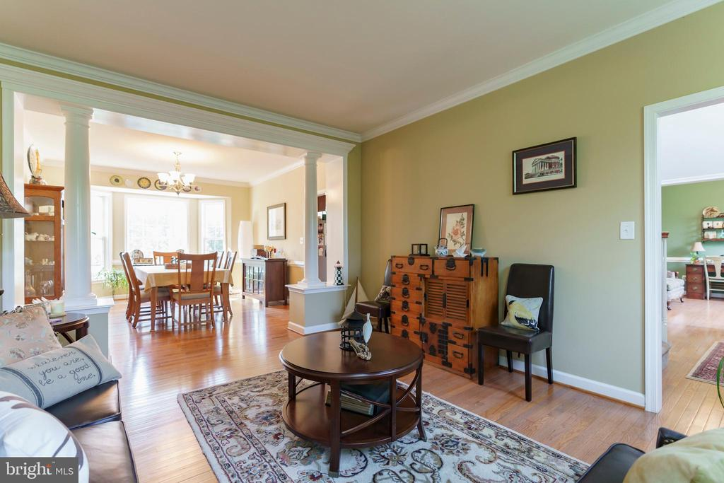 Large formal living room - 12 BLOSSOM TREE CT, STAFFORD