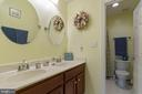 Dual vanities in second level bath - 12 BLOSSOM TREE CT, STAFFORD