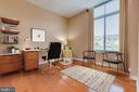 If you are working at home, make bdrm 2 an office! - 1201 N GARFIELD ST #316, ARLINGTON