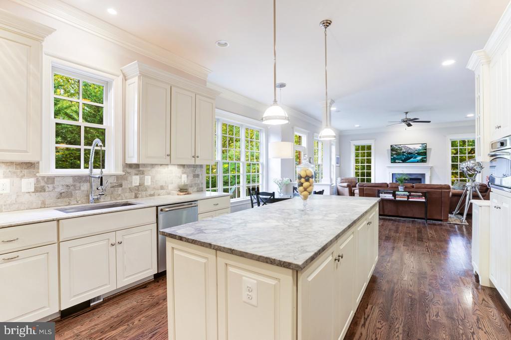 Gourmet Kitchen - Open to Family Room - 4005 N RICHMOND ST, ARLINGTON