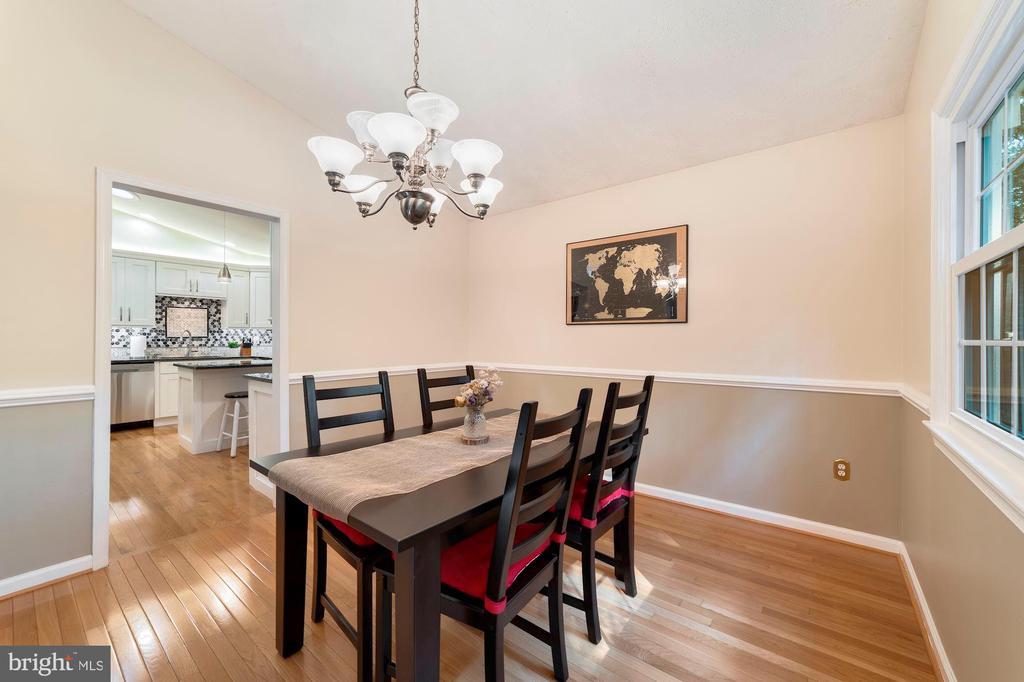 Dining Room - 13501 RICHIE CT, MANASSAS