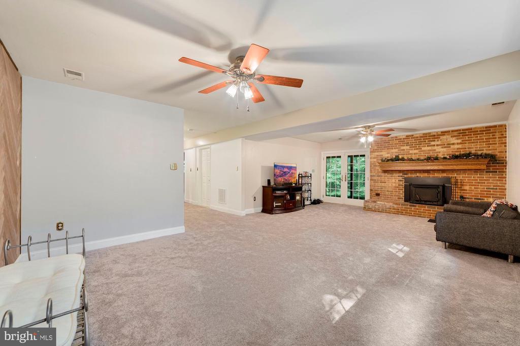 Downstairs Family Room - 13501 RICHIE CT, MANASSAS