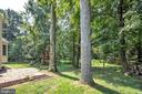 Backs to wooded area for added privacy - 4 THORTON CT, STERLING