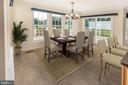 ...perfect for casual dining! - 18728 POTOMAC STATION DR, LEESBURG