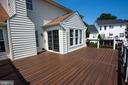 Sunroom walks out to the spacious Trex deck... - 18728 POTOMAC STATION DR, LEESBURG
