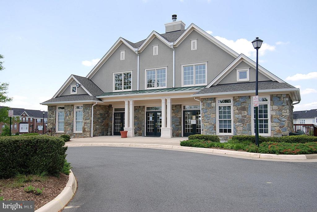 The beautiful clubhouse houses the HOA... - 18728 POTOMAC STATION DR, LEESBURG