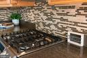 Custom backsplash and Samsung gas cooking! - 18728 POTOMAC STATION DR, LEESBURG