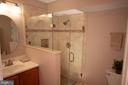Recently renovated master bath! - 18728 POTOMAC STATION DR, LEESBURG