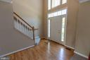 Enter into the light-filled 2-story foyer. - 18728 POTOMAC STATION DR, LEESBURG