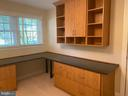 Office with built-ins - 8333 BLOWING ROCK RD, ALEXANDRIA