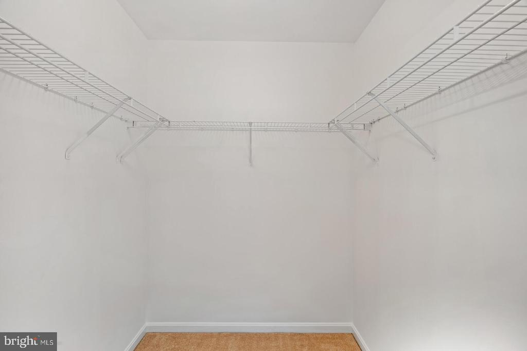 Walk-in closets all bedrooms - 25495 GOVER DR, CHANTILLY